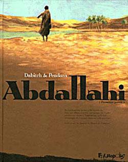 Christophe Dabitch pour Abdallahi, bande dessinée inspirée par René Caillié