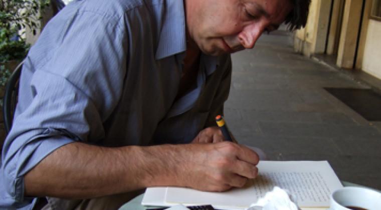Jean-Paul Chabrier pour Avril en octobre aux éditions de l'Escampette