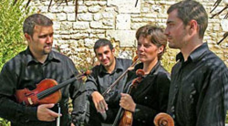 Quatuor Kadenza : Arnaud Chataigner, Mathias Guerry, Béatrice Daigre-Hurteaud, Jean-Nicolas Richard pour l'ensemble de son oeuvre