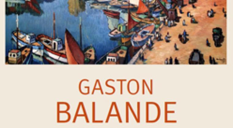 Les amis de Gaston Balande pour le catalogue raisonné de l'œuvre du peintre