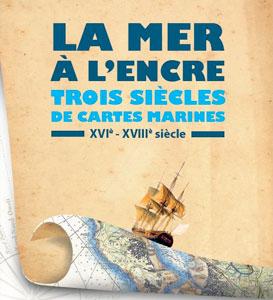 Alain Morgat pour l'exposition La mer à l'encre à la Corderie royale