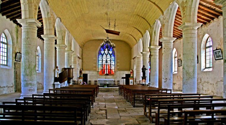 Nicolas Sollogoub pour ses vitraux de l'église de Brouage