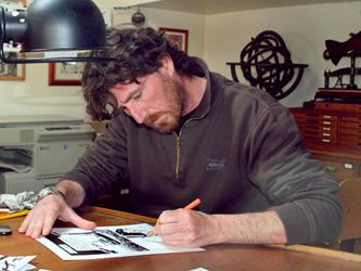 Christophe Chabouté pour Tout seul aux Editions Vents d'Ouest