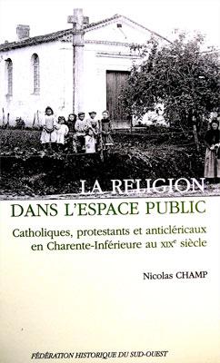 Nicolas Champ pour La religion dans l'espace public