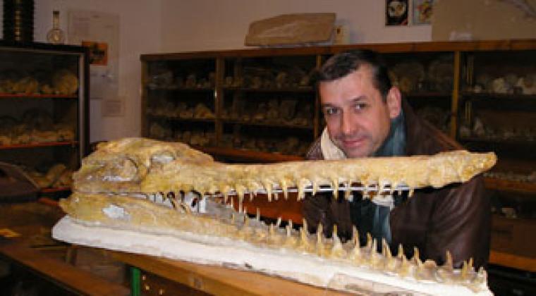 Eric Dépré pour ses recherches et travaux de paléontologie sur l'évolution des poissons
