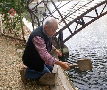 Gabriel Magne pour la restauration du Moulin de Narrat