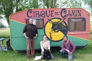 Cirque le Gamin pour une classe de cirque associé au lycée Marcel Dassault