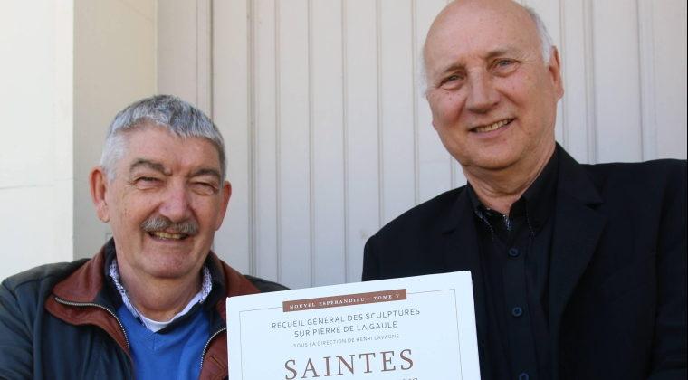 Gérard Moitrieux et Pierre Tronche, pour « Saintes, la cité des Santons et Angoulême »