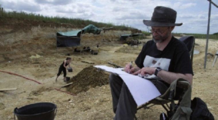 Mazan, dessinateur, spécialiste des dinosaures