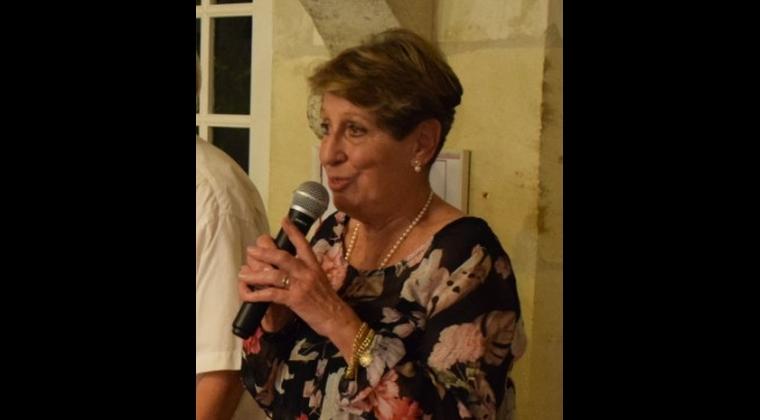 Michelle Le Brozec, présidente de la Société d'archéologie et d'histoire de la Charente-Maritime