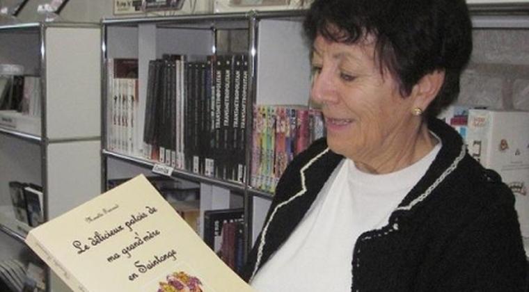 Monette Foucaud, pour ses ouvrages sur le patois
